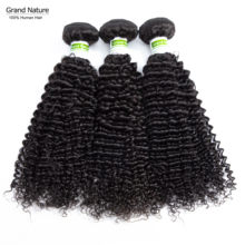 8A indian kinky curly Human hair weave bundles 100% deep wave curly remy human Hair 1/3/4 Bundle Deals extensions 8-26inch(China)
