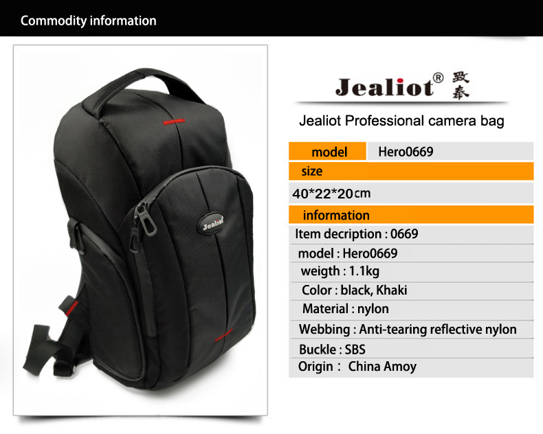 Consumer Electronics Romantic Outdoor Wear-resisting Dslr Digital Camera Video Backpack Water-resistant Multi-functional Breathable Photograph Camera Bag