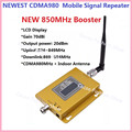 LCD Display ! GSM Repeater 850MHz CDMA Mobile Signal Booster Repeater GSM Cellular phone wireless amplifier with indoor antenna