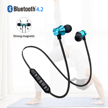 MOONSTAR XT11 bluetooth earphone wireless headphones Magnetic Headset Neckband Sport Running Bluetooth 4.2 Earphones With Mic цена и фото