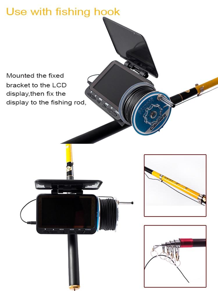Hd 1000tvl subaquática peixe finder câmera de