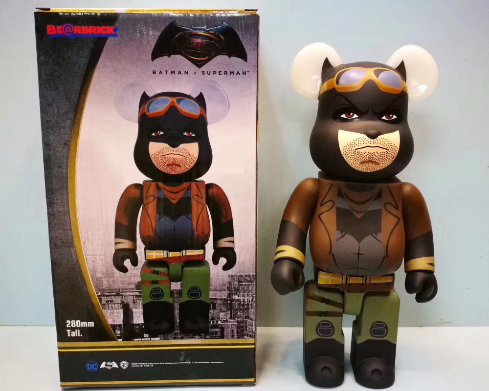 11inch 400% Bearbrick Be@rbrick Batman The Astro Boy Care bear Charlie Brown Big Bird PVC Action Figure Fashion Toy Retail Box new hot christmas gift 21inch 52cm bearbrick be rbrick fashion toy pvc action figure collectible model toy decoration