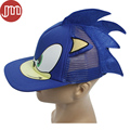 New 1 PCS Blue Sonic The Hedgehog Adjustable Baseball Cap Cartoon Adult Cosplay Hat Perimeter 55cm Free Track Code