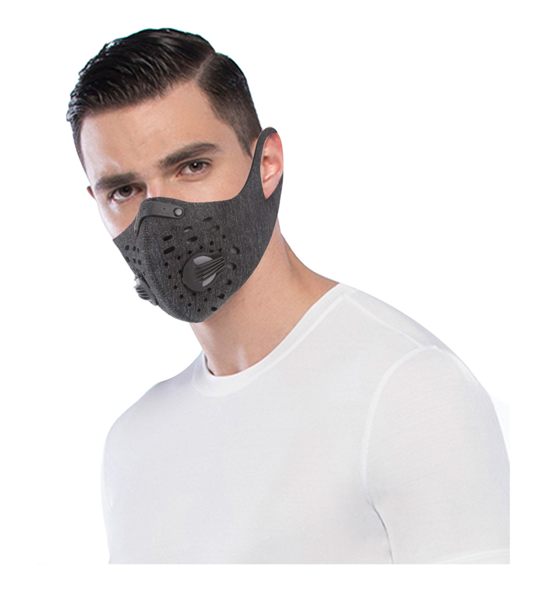 N95 Mask for coronavirus with Filter Activated Carbon PM 2.5 Anti-Pollution