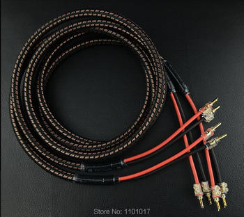 HIFI EXQUIS MPS SP-550 OFC 99.997% High fever speaker cable sound equilibre Affordable High Leve Quality