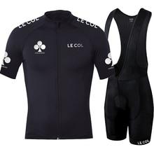 مجموعة سراويل للمريلة بأكمام قصيرة من الجيرسيه لركوب الدراجات لعام 2020 مجموعة ملابس للفرق برو