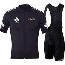 Runchita conjunto de camisa e calças para ciclismo, camisa de manga curta, calças para corrida, profissional, 2020