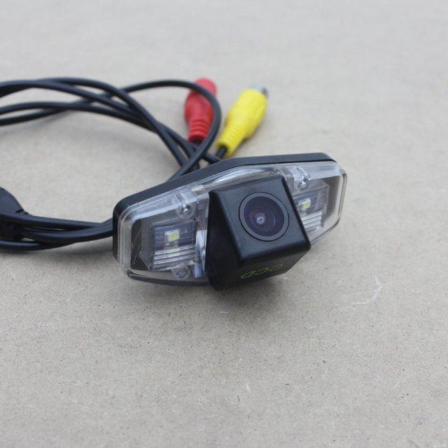 Para Honda Civic 2001 ~ 2014/Câmera de Estacionamento/Invertendo Back up câmera/Câmara de Visão Traseira/HD CCD da câmera de Visão Noturna + Grande ângulo