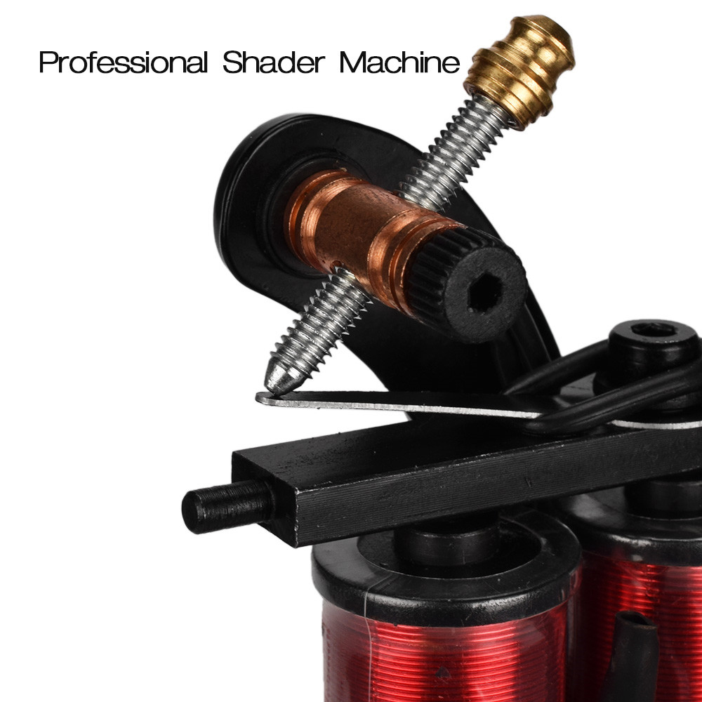 Profissional Rotary Tattoo Machine Shader Liner Assorted Tatoo Motor Gun Kits Supply For Artists permanent makeup machine in Tattoo Guns from Beauty Health