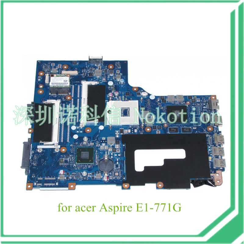 NBMG511001 NB.MG511.001 Laptop motherboard For acer aspire E1-771G V3-771G GeForce