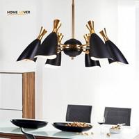 Modern Led Chandelier Lighting Novelty Lustre Lamparas Colgantes Lamp For Bedroom Living Room Luminaria Indoor Light