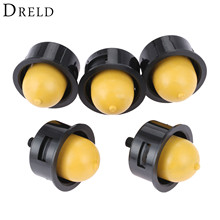 DRELD 5Pcs Carburetor Lawn Mower Primer Bulb with Steel Bolt For Lawnmower Blower Engine Replacment Chainsaws Garden Tools Parts