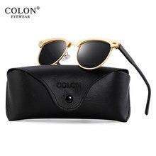 Aluminium Sunglasses Men Women Polarized UV400 Brand Designer Sun Glasses Oculos masculino feminino Lunette soleil femme