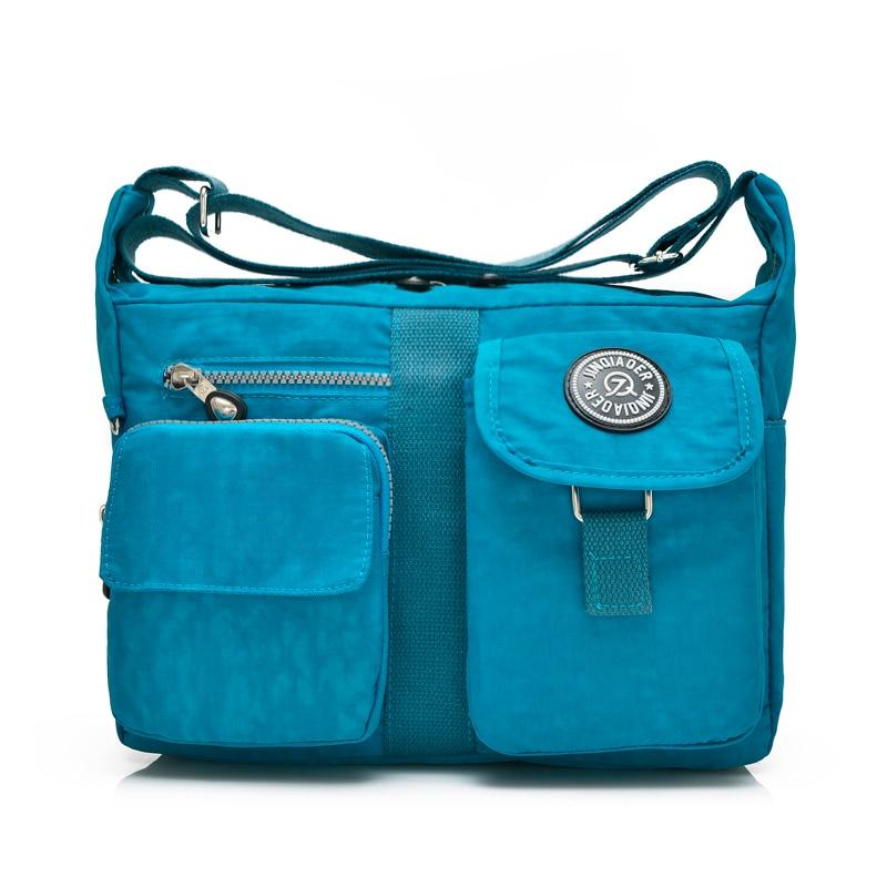 Hot Brand Mono bolsa de Nylon kippl bolsas de Mensajero de Las Mujeres Originale