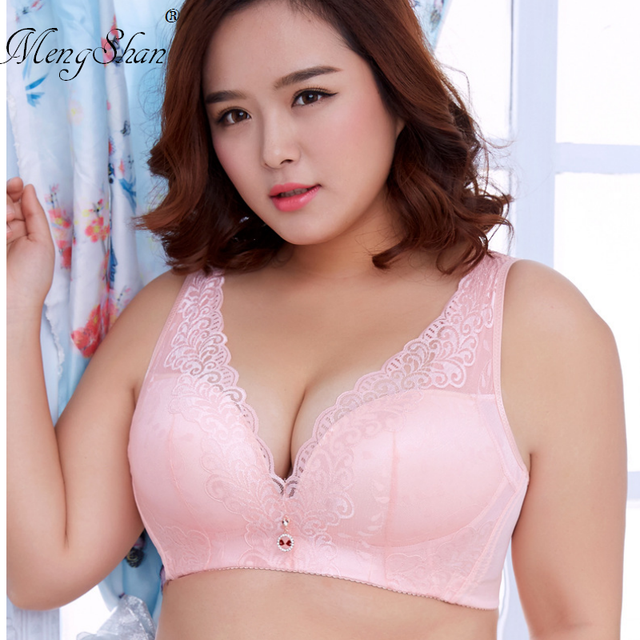 565fb8bd8b Women s Bras Plus Size Bras D DD cup Push Up Lace Brassiere for Women  Underwire Lace Bras for Large Cups White black Red 3 4 Cup