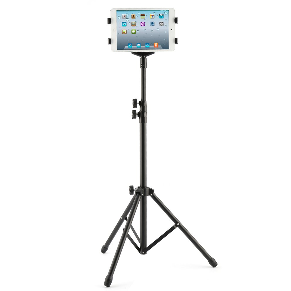 Multi-direction Floor Mount Stand Tripod Holder For 7-10 inch iPAD 2 3 4 Air tripod rotation tablet holder stand for ipad air mini 2 3 4 tablet mount 7 10 inch floor tripod stand for samsung kindle huawei