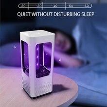 Светодиодная лампа от комаров ловушка для насекомых летная ночник