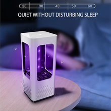 Led Mosquito Killer Lamp Fly Trap Light Anti Insect Summer Nightlight New Home Pest Control