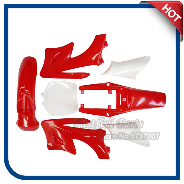 XLJOY Plastic Fender Set for Chinese 2 Stroke 47cc 49cc Apollo Orion Mini Dirt Bikes
