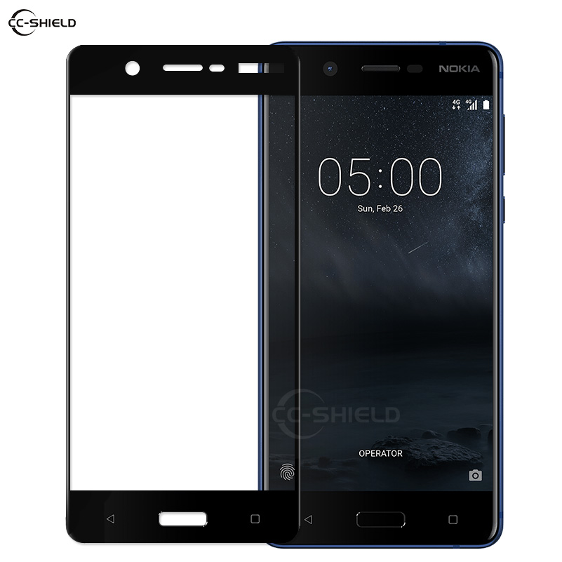 Full Cover Glass for <font><b>Nokia</b></font> 5 TA-1024 TA-<font><b>1053</b></font> TA-1027 Screen Protector Film for Nokia5 TA <font><b>1053</b></font> 1024 1027 <font><b>Nokia</b></font> 5 Tempered Glass image