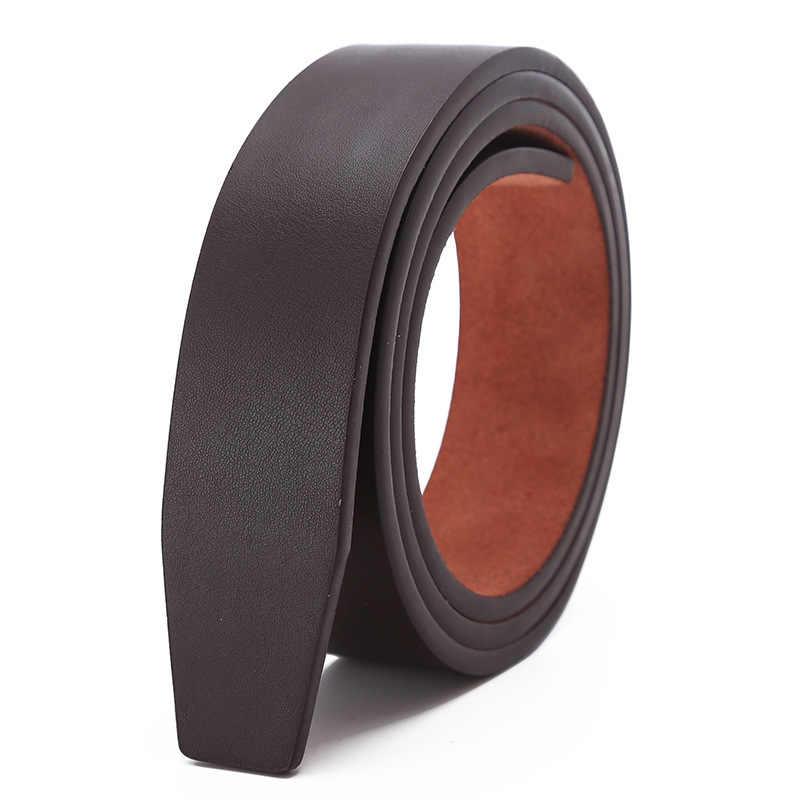 No Fibbia Migliori Designer Cinture Di Marca di Lusso per Uomo Automatico Fibbia Maschio Cinturino In Vera Pelle Cinturino Ceinture Homme