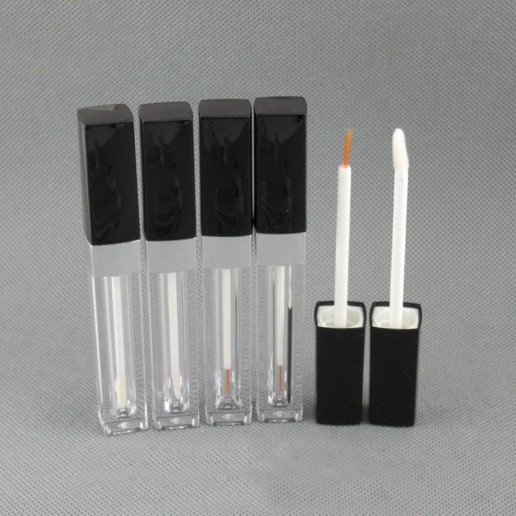 f42946783e45 US $22.97 24% OFF|20/50pcs/lot 3.5ml DIY square transparent eyelash liquid  tube eyeliner pen bottles packaging container & black injection cover-in ...
