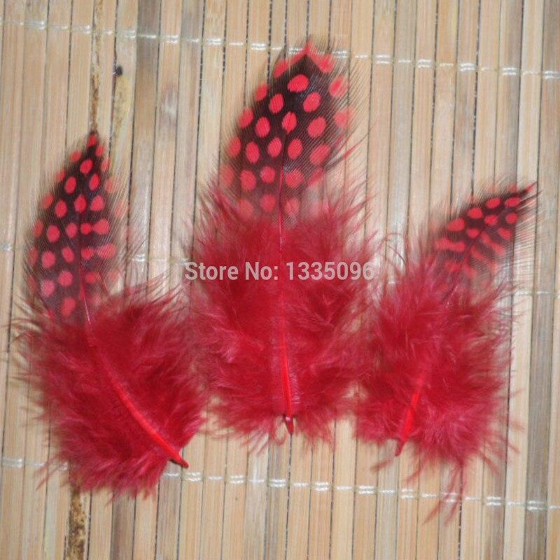 9bc2d3dc7 100 Unidades/lotes de varejo barato pintadas gaivotas penas bonitas penas  de faisão 6-12 cm vermelho accessorie