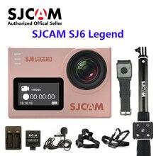 Оригинальный SJCAM SJ6 Легенда Wi-Fi 4 К 24fps Ultra HD notavek 96660 Водонепроницаемый действие Камера 2 «Сенсорный экран дистанционного Спорт