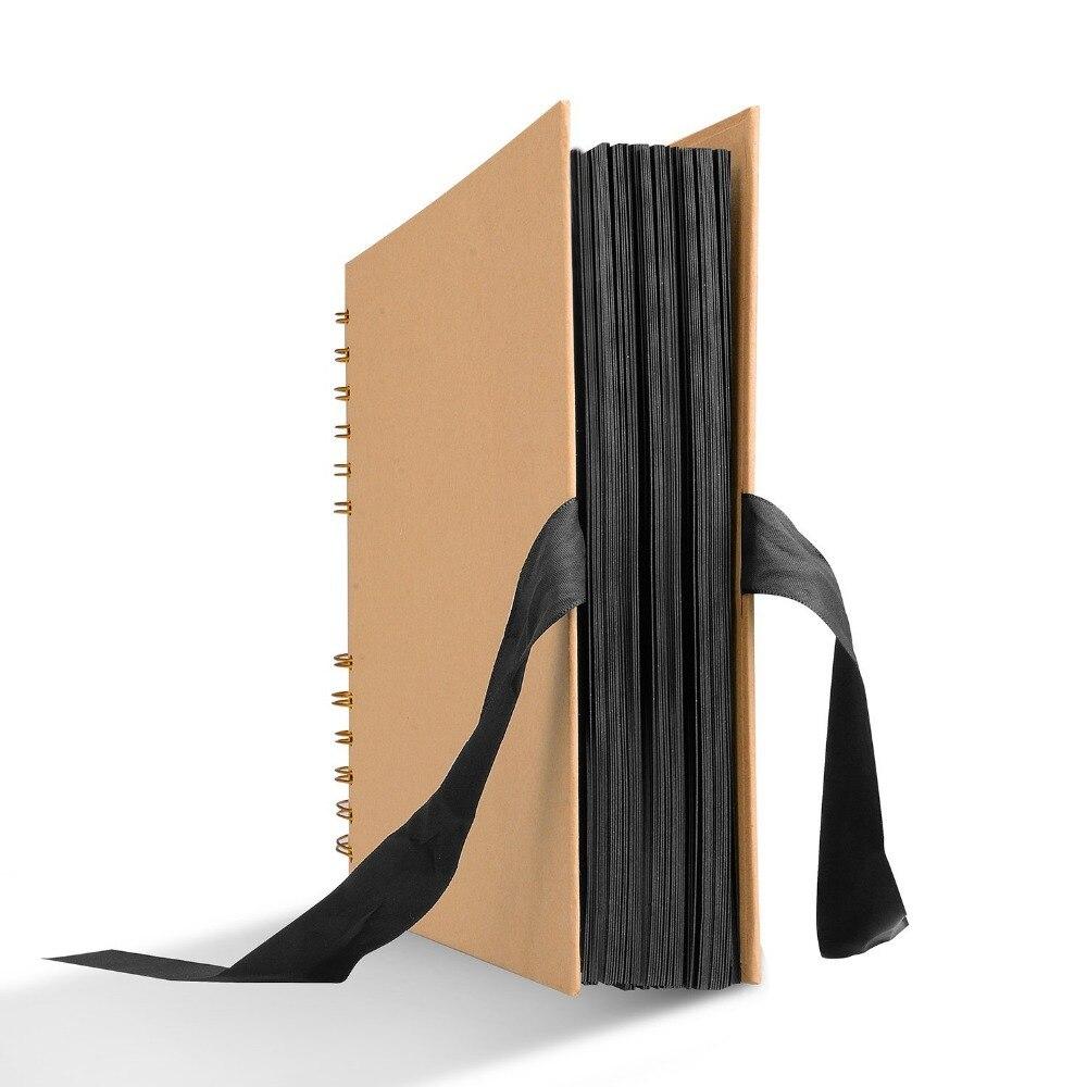 Álbum de fotos de 80 páginas álbum de recortes para álbum de fotos manualidades de papel DIY álbum de fotos de boda regalos de aniversario