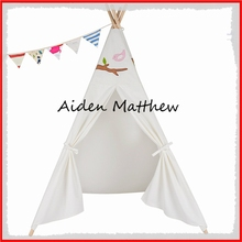 High Quality Cotton canvas Tent For Kids Single Pole Tipi