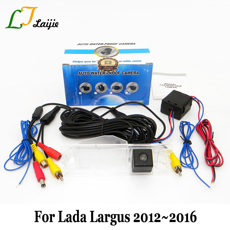 Kamera pro zadní pohled do auta pro Lada Largus 2012 ~ 2016 / RCA - Elektronika Automobilů