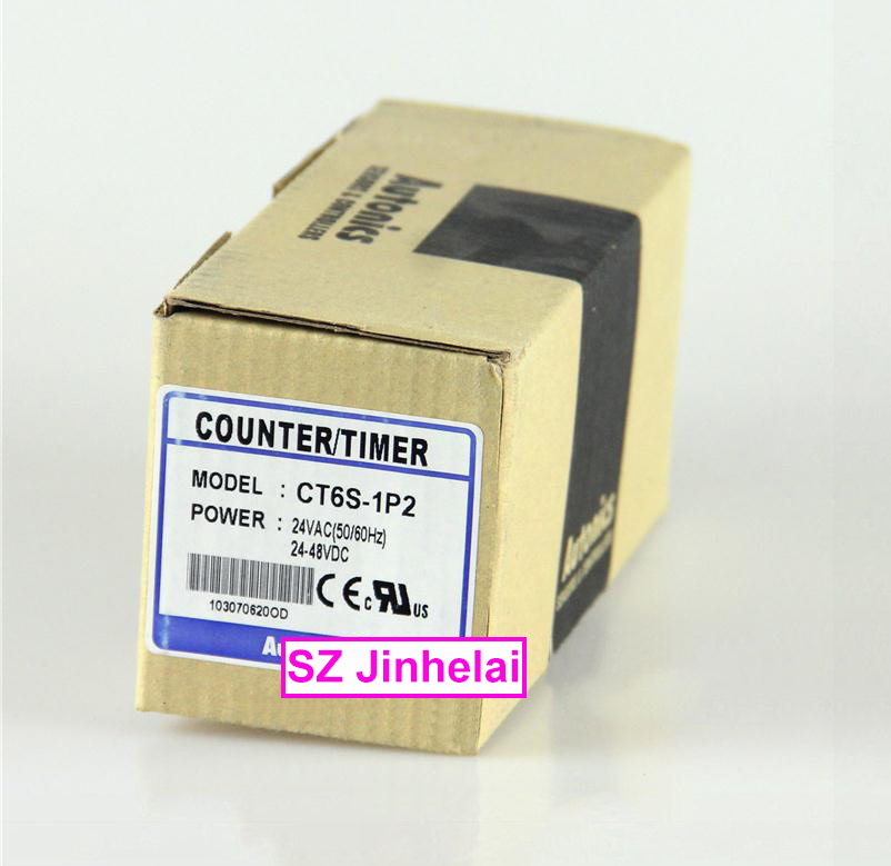цена Authentic original CT6S-1P2 AUTONICS Timer relay TIMER 24VAC 24-48VDC