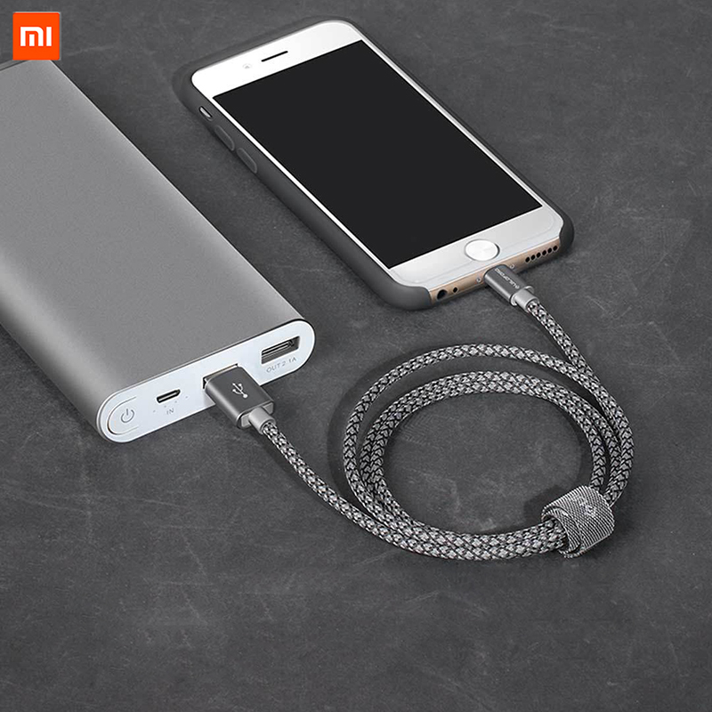 Image 5 - Original Xiaomi Cable for iPhone Fast Charging Data Cable for iPhone X XS MAX 8 7 6 6S 5 iPad mini USB Charger Wire cord-in Mobile Phone Cables from Cellphones & Telecommunications