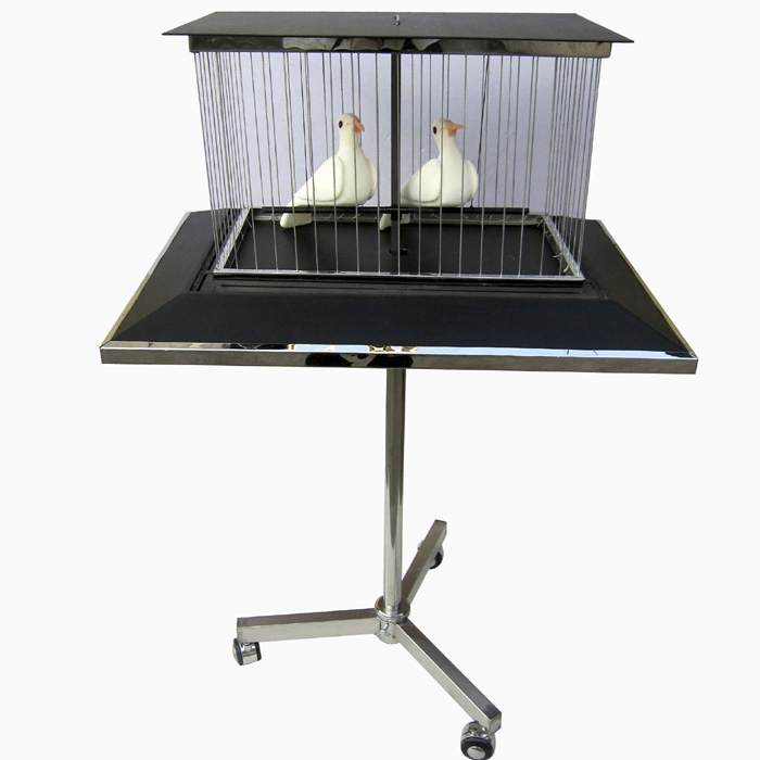 Vanishing Dove Cage,Bird Cage Disappearing Table - Magic Tricks,Stage,Gimmick,Illusions,Props,Comedy