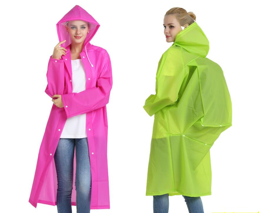 Lightweight Raincoat Rain coat Cape Poncho Backpack Position Transparent Tour Waterproof Girl Regenjacke rainwear YY280