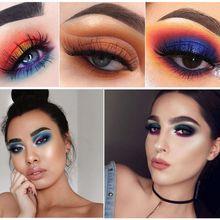 Miaool Rose Makeup Studio Eyeshadow Highly Pigmented Paleta De Sombras Para Olhos Waterproof Shimmer Glitter Nude Palette
