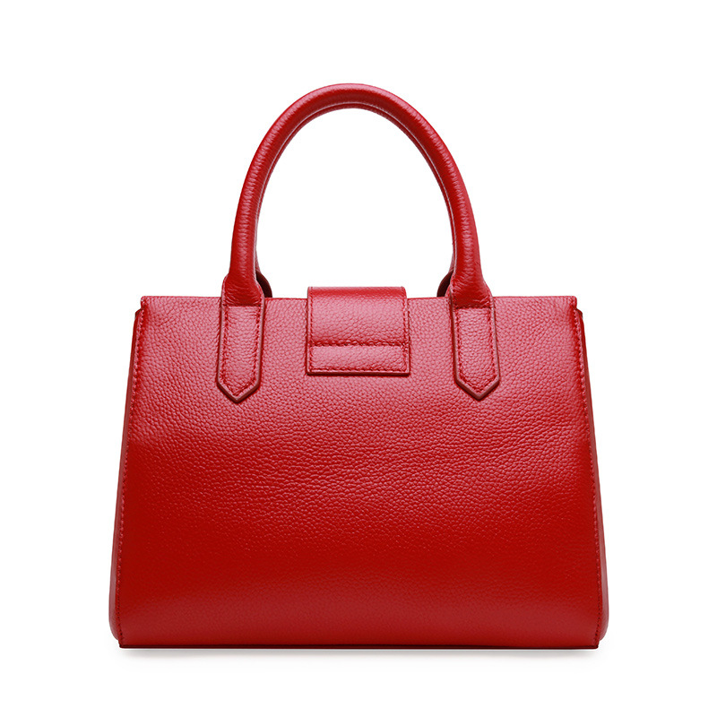 Westcreek Brand Genuine Leather Women Handbag Shoulder Bag Fashion Design Casual Cow Leather Female Crossbody Bag Lock Bag luxury genuine leather bag fashion brand designer women handbag cowhide leather shoulder composite bag casual totes