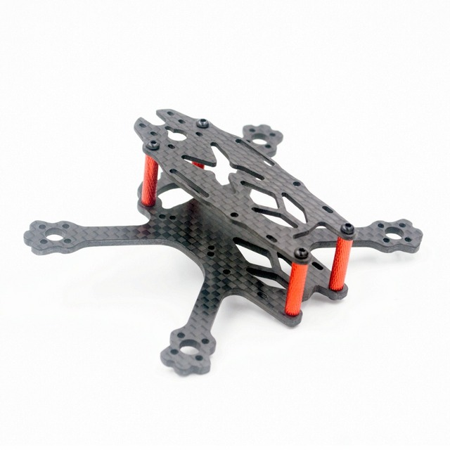 FS95 pure Carbon Fiber 95MM Wheelbase quadcopter frame for DIY RC FPV Racing Drone support F4 Runcam/FOXEER Micro series