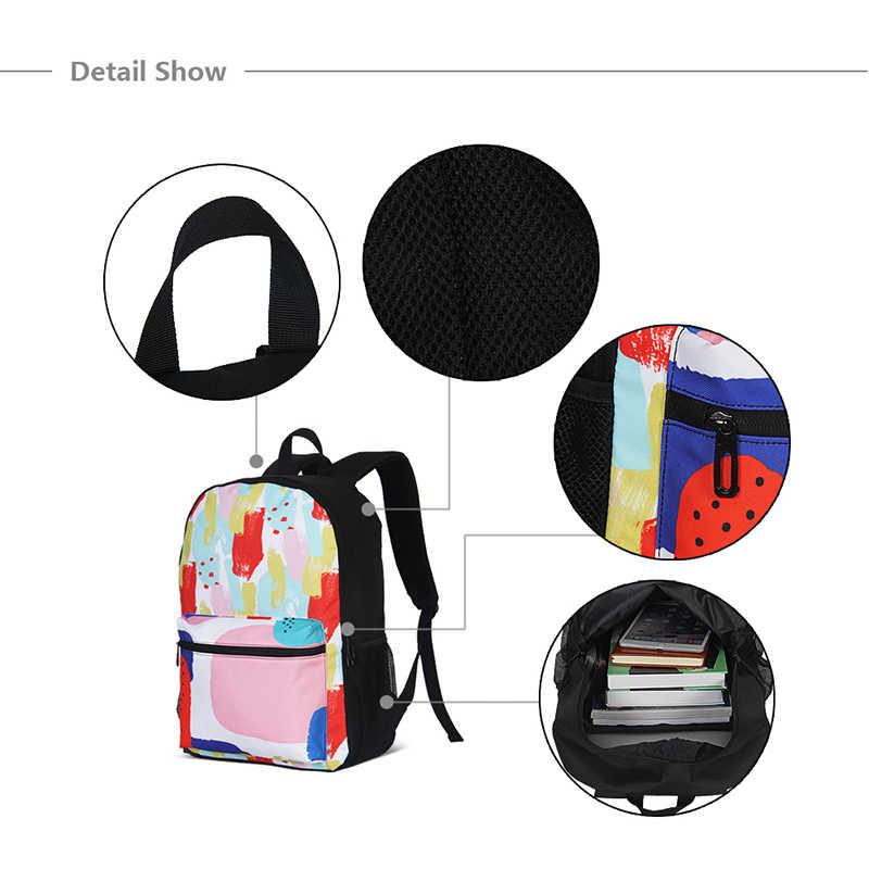 2020 Kinderen School Rugzak Tiener Cartoon Meisje Prints Laptop Rugzakken Fashion School Tassen Student Boekentas Mochila Infantil
