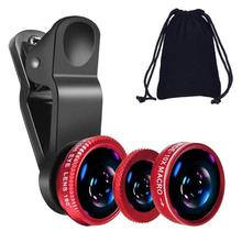 Fisheye Lens 3 in 1 mobile phone