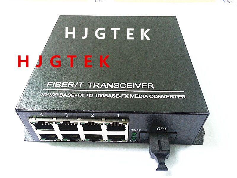 Wysokiej jakości jednomodowy pojedynczy światłowód 10 / 100Mb / s - Sprzęt komunikacyjny - Zdjęcie 1