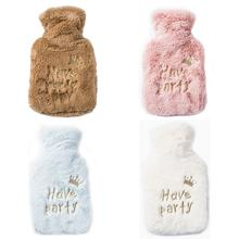 New Arrival Creative Cute Crown Hot Water Bottle Bag Safe And Reliable High-quality Rubber Washable Household Warm Items