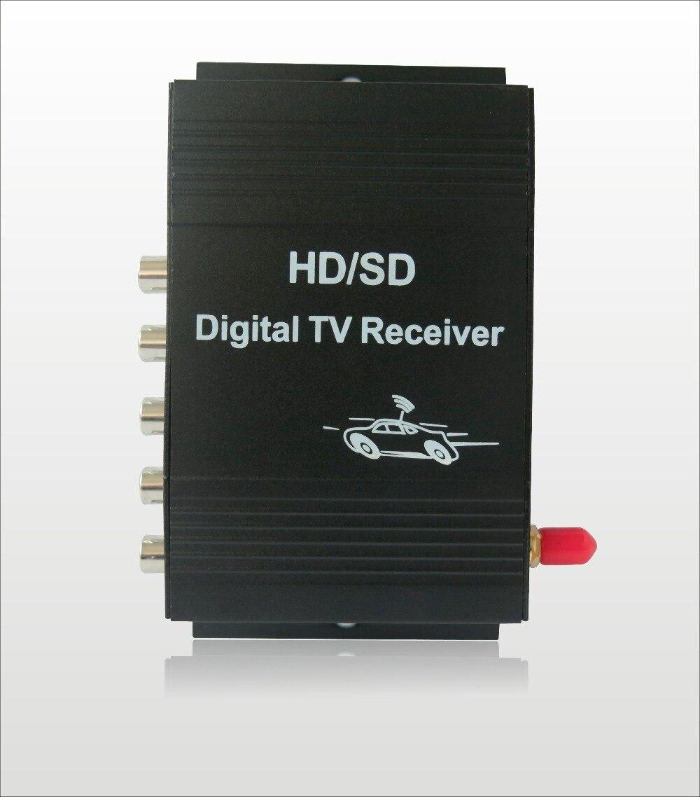 Récepteur de Tuner de télévision numérique Mobile du brésil de ISDB-T de voiture pour des moniteurs d'affichage à cristaux liquides de voiture