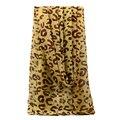[LESIDA] 2016 Новая Мода Леопарда Печатных Женщины Шифоновый Шарф Шелковые Шарфы Длинные Wrap Украл Для Женщин Платки ShawlXF0013