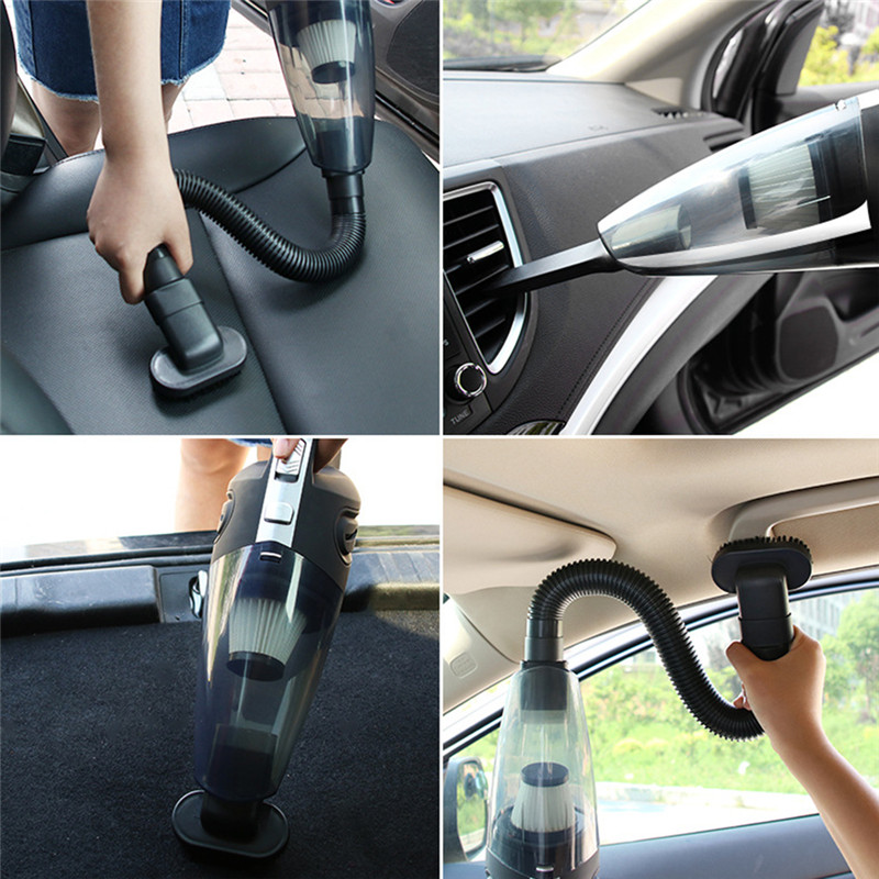 Car Accessories Auto Car vacuum cleaner wireless car dry and wet vacuum cleaner household hand