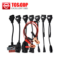 Hot selling CAR CABLE OBD OBD2 full set 8 car cables diagnostic Tool Interface cable for TCS pro plus multidiag pro MVD