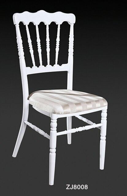 Großhandel Qualität Starken Weißen Aluminium Napoleon Stuhl Für