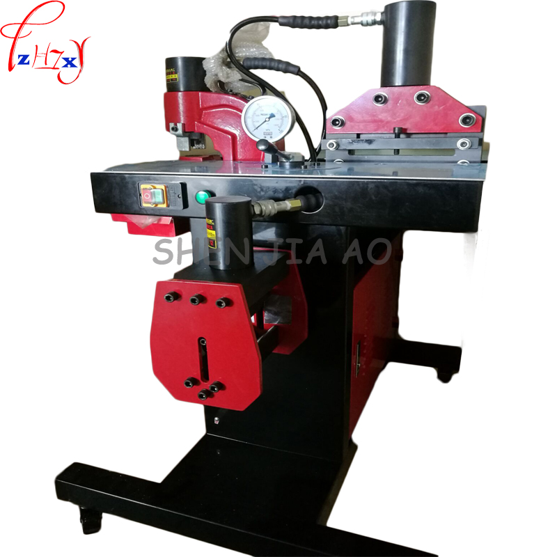 Macchina di lavorazione sbarre 1pc 220V DHY-200 per punzonatura, piegatura, funzione di taglio