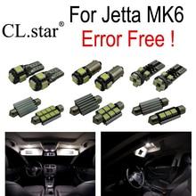 11 шт. Х 100% ошибка бесплатно для Volkswagen VW jetta 6 MK6 СВЕТОДИОДНЫЕ лампы интерьер свет комплект пакет Седан (2011 +)