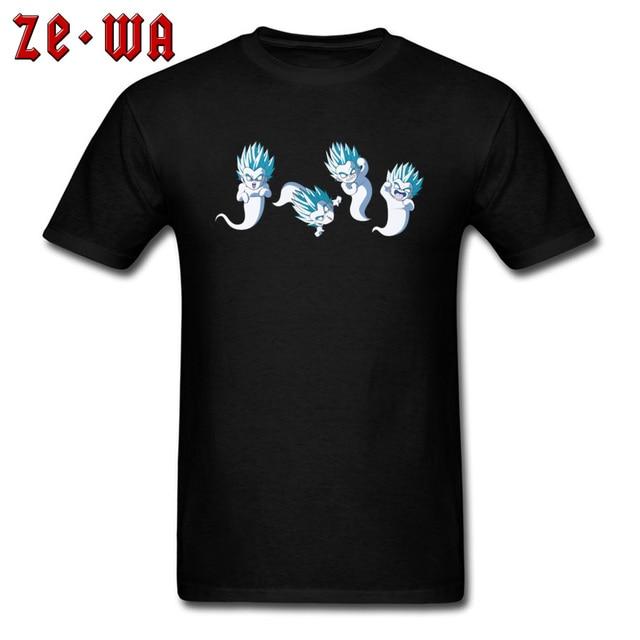 2f67107f Black Tshirt Super Dragon Ball Z Goku Ghost T Shirts Kamikaze Ghost Funny Saiyan  Vegeta Tshirts Easter Dragonball Tee Shirt Man